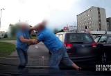 Bójka kierowców na skrzyżowaniu na Przymorzu