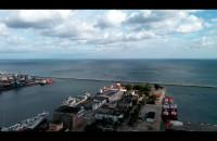 Widok z tarasu Sea Towers