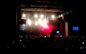 Fragmenty koncertu zespołu Behemoth