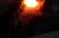 Spalił się samochód przy ul. Kaszubskiej w Gdańsku