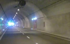 Poranna przeszkoda w tunelu