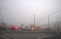 Havla i Wilanowska tonie w korku i mgle