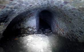 Fragment tuneli Bastionu Kot
