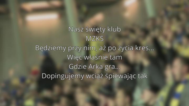 Nasz święty klub - przyśpiewka kibiców Arki