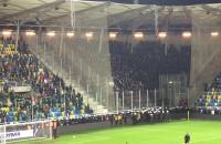 Policja wchodzi na stadion