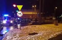 Wypadek na Karwinach 2016.11.11