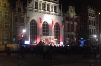Niepodległościowy koncert przed Dworem Artusa