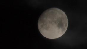 Superksiężyc nad Trójmiastem
