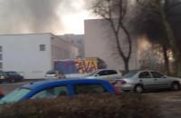 Pożar altany na Witominie