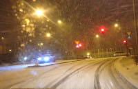 Fatalne warunki do jazdy na Zaspie