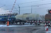Szlabany na rogatkach kolejowych