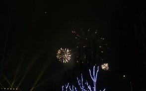 Fajerwerki na Skwerze Kościuszki