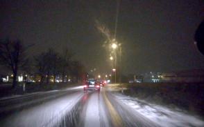 Przyszła zima w Kowalach :)