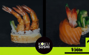 Gwiazdy w Koku Sushi