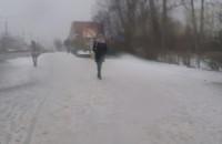 Gdyńskie ścieżki rowerowe dalej w śniegu