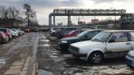 Parkingowy bajzel przy Marynarki Polskiej