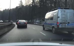 Kolizja na Słowackiego w kierunku Wrzeszcza