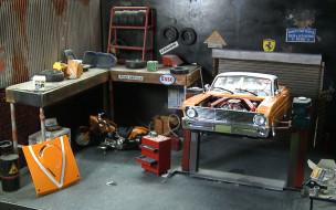 Skleja modele samochodów