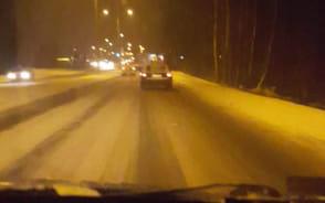 Zaje.biste warunki na drogach w Gdyni