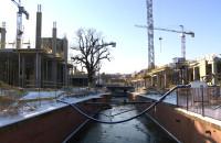 Budowa Forum Gdańsk od środka