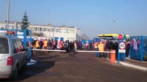 Protest w Lotos Kolej