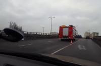 Wypadek na wiadukcie przy Klinicznej