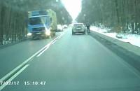 Kierowca chciał potrącić rowerzystę?