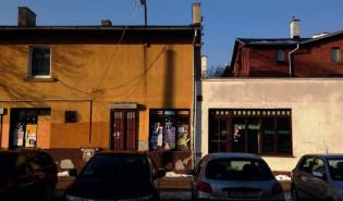 Oliwa - opusczona księgarnia i kiosk