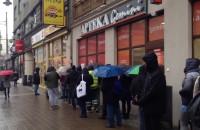 Godzina stania po pączki z Pączusia w Gdyni