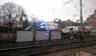 Wypadek w centrum Gdańska