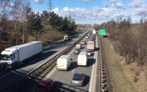 Wypadek na obwodnicy w Karczemkach