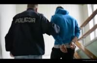 Zatrzymanie złodziei, którzy potrącili policjanta