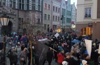 Tłumy na manifie w Gdańsku