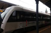 Pierwszy w historii odjazd pociągu z Gdańska Głównego do Kościerzyny