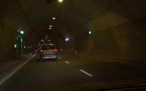 Kolizja w tunelu pod Wisłą