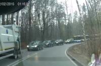 Wypadek koło Wiczlina
