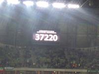 Ligowy rekord frekwencji w Gdańsku - 37 220 kibiców