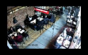 Kolejni kieszonkowcy nagrani w gdańskiej restauracji