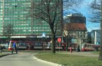 Awaria tramwajów pod Zieleniakiem