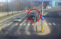Zatrzymanie nietrzeźwego kierowcy w Olsztynie przez policjanta z Gdyni