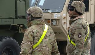 Amerykańska armia rozładowała sprzęt w gdańskim porcie