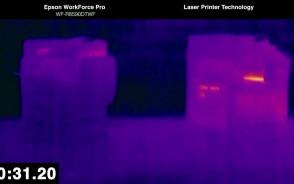 Generowanie energii cieplnej przez drukarki
