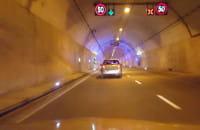 Straż pożarna działa w tunelu pod Martwą Wisłą