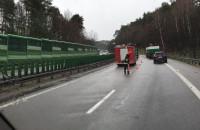 Wypadek pomiędzy Chyloni a estakadą ...