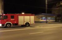 Nocny wyjazd sopockiej PSP w stronę Gdańska