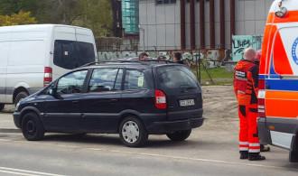 Wypadek na ul. Rybaki Górne