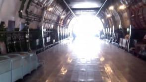 Wnętrze transportowca Antonow