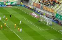 Drugi gol dla Lechii w meczu z Jagiellonią