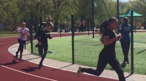 Zawody lekkoatletyczne KL Lechia na gdańskiej Zaspie