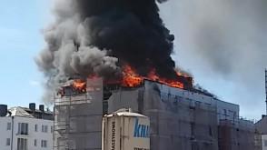 Pożar bloku Wiczlino Hossa